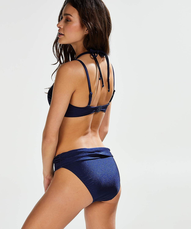 E HUNKEM/ÖLLER Damen Vorgeformtes tr/ägerloses Push-Up Bikini-Oberteil Rhapsody Cup A