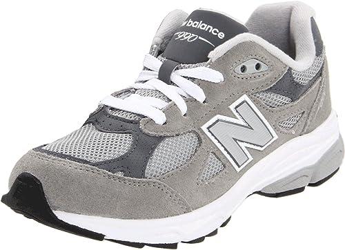 d23e086bc4 New Balance Kv990Gri Running Kids Suede E Nylon Mash: Amazon.it ...