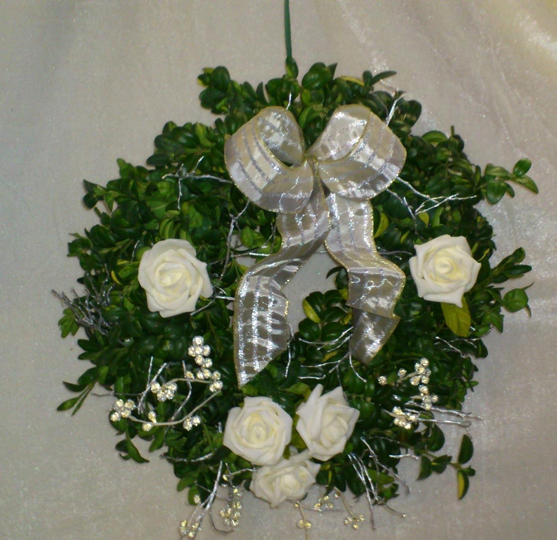 Buchsbaumkranz Silber Hochzeit Jubiläum Frisch In 3 Größen