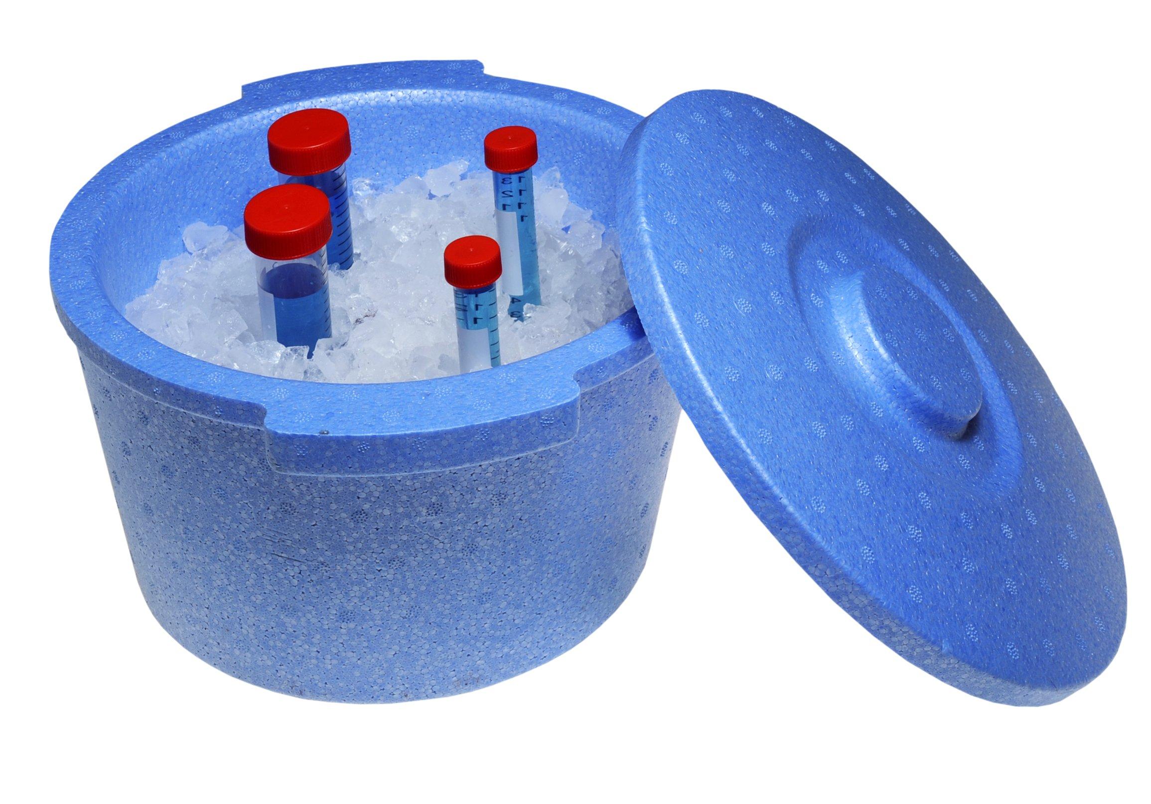 Argos Technologies B9905B Ice Bucket, Polystyrene, 5 L, Blue