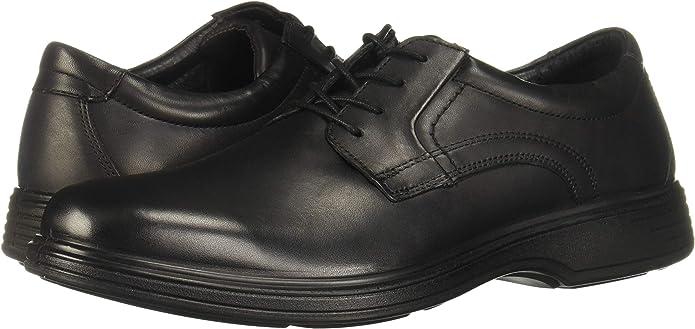 Flexi QUILMES 59301 - Zapato casual de piel auténtica para hombre, color Negro, talla 42 2/3 EU: Amazon.es: Zapatos y complementos