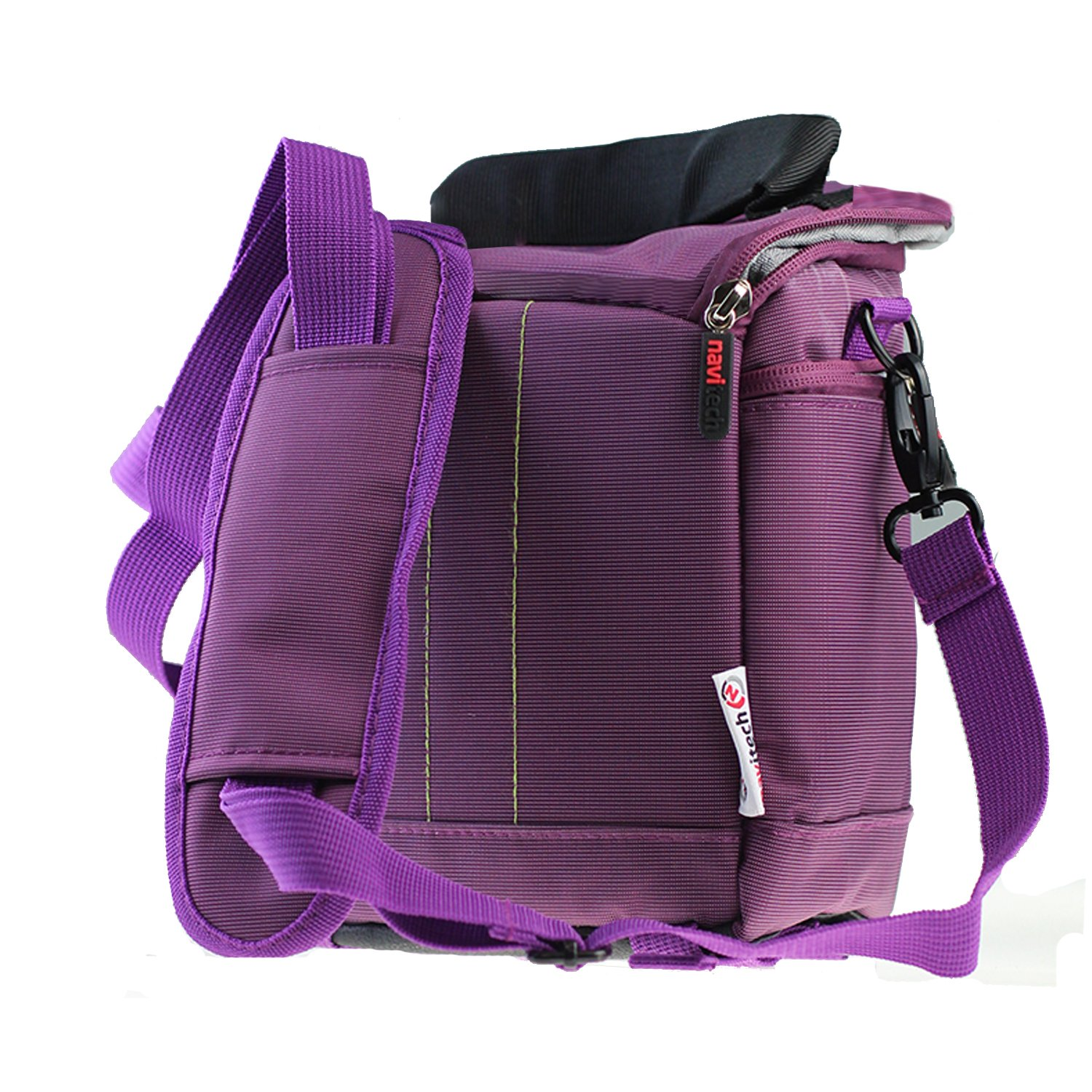 Navitech Purple Protective Portable Handheld Binocular Case and Travel Bag Compatible with The Leica Trinovid 8 x 42 HD