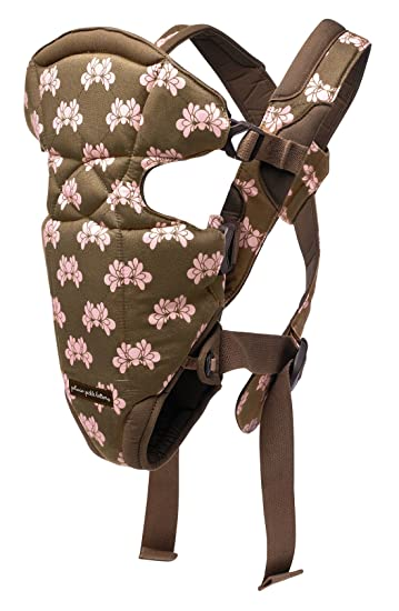 5a64a6d769d Amazon.com   Sightseer Carrier by Petunia Pickle Bottom (Tour in Yoshino   Brown and Pink Shell w  Brown Lining)   Child Carrier Front Packs   Baby