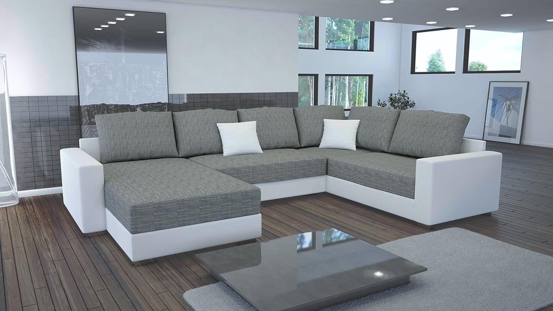 Sofa Couchgarnitur Couch Sofagarnitur STY 4.1 U Polstergarnitur Polsterecke Wohnlandschaft mit Schlaffunktion