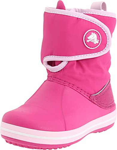 sports shoes 8da86 59d5e crocs Crocband Gust Boot 11094-68L-121 Unisex - Kinder, EU 27 pink  (Fuchsia/Bubblegum) (US C10)