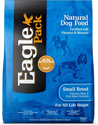 Eagle Pack Natural Dry Dog Food Small Breed Dog Food Chicken Pork