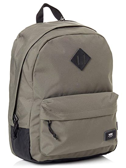 Mochila Vans Old Skool Plus Grape Leaf-Negro (Default, Verde)
