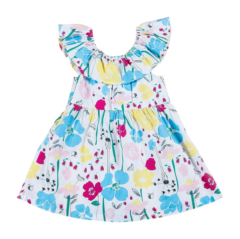 Kinderkind Girls Off The Shoulder Floral Dress