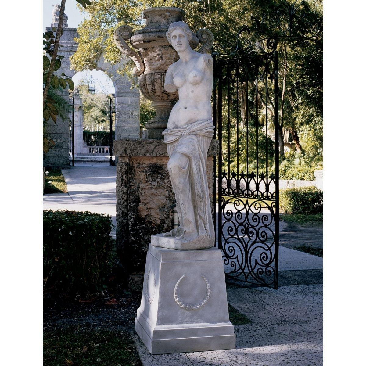 Amazon.com : Design Toscano Venus de Milo Statue: Grand : Outdoor ...