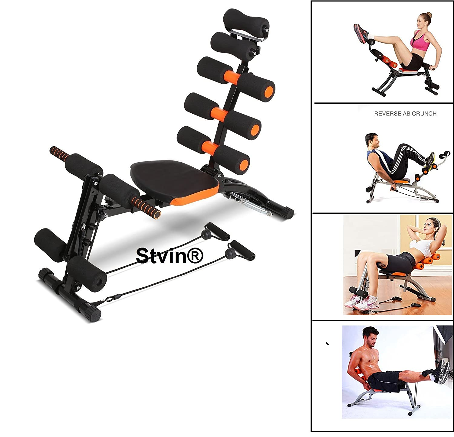 Stvin six pack abs exerciser / six pack machine 20 different mode for exercise and fitness