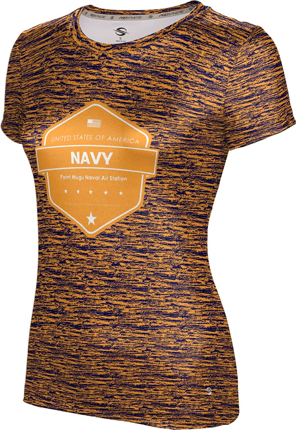 ProSphere Women's Point Mugu Naval Air Station Military Brushed Tech Tee