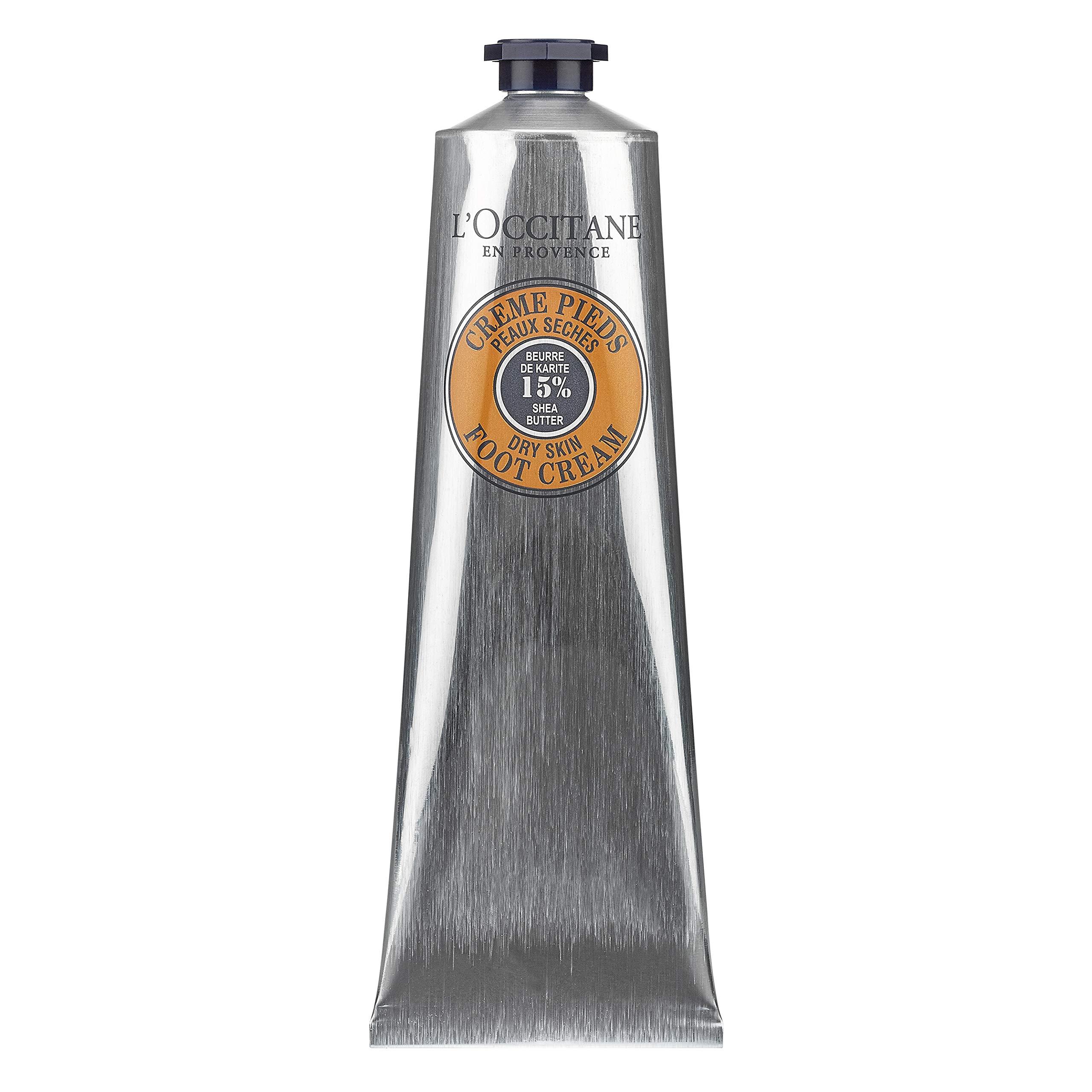 L'Occitane 15% Shea Butter Foot Cream Enriched with Lavender & Arnica, 5.2 oz. by L'Occitane
