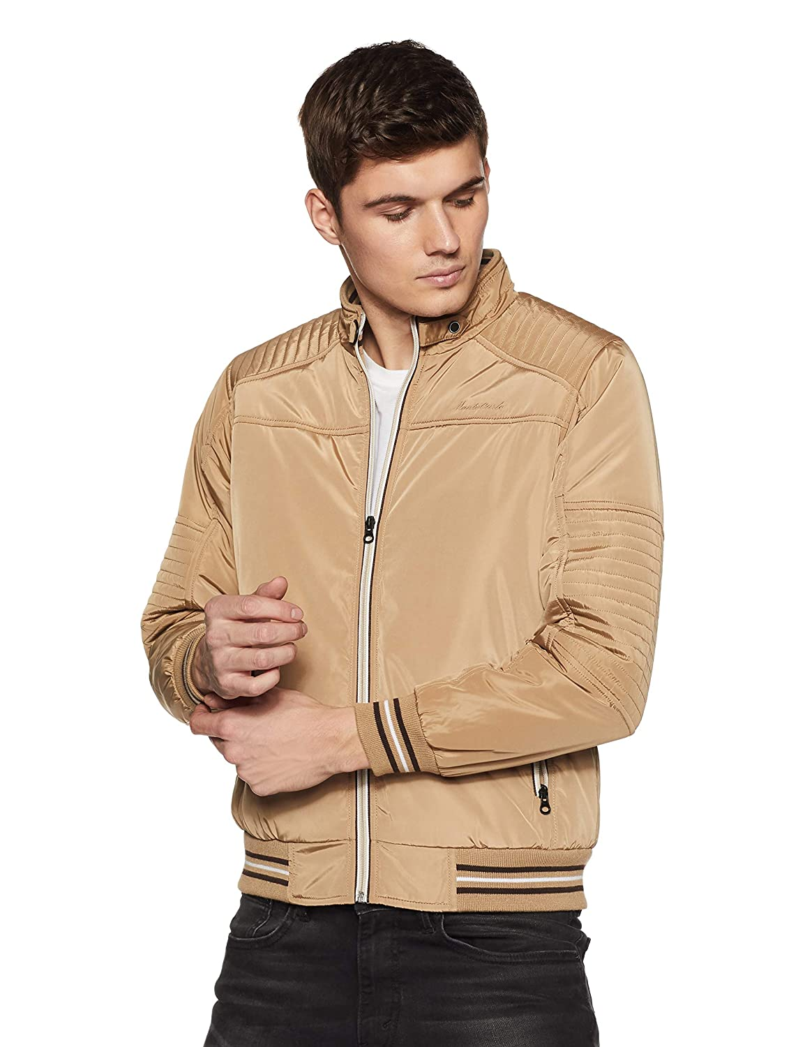 be33d2cf1890f Monte Carlo Men s Jacket  Amazon.in  Clothing   Accessories