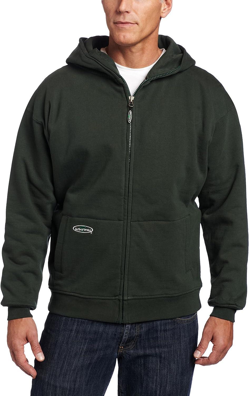 Bigbarry Mens Modern Pullover Pure Color Hooded Pocket Sweatshirts Jacket
