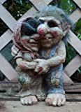 Loved Up Couple Talula And Tarquin Troll Gnome Garden Gift Ornament