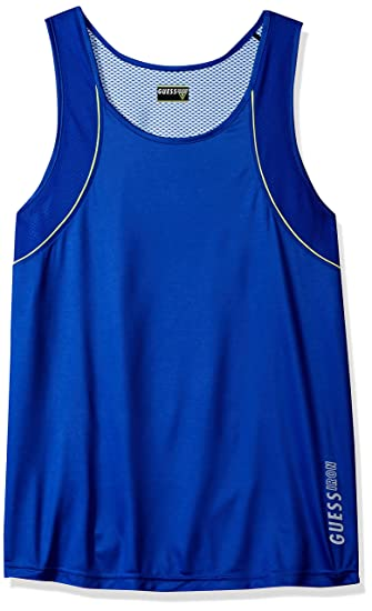 5098dd56b25315 GUESS Men s Performance Tank Top at Amazon Men s Clothing store