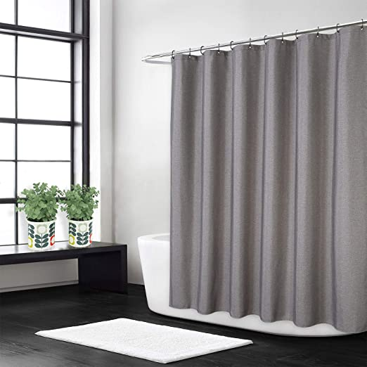 Amazon Com Caromio Extra Long Shower Curtain 96 Inches Length