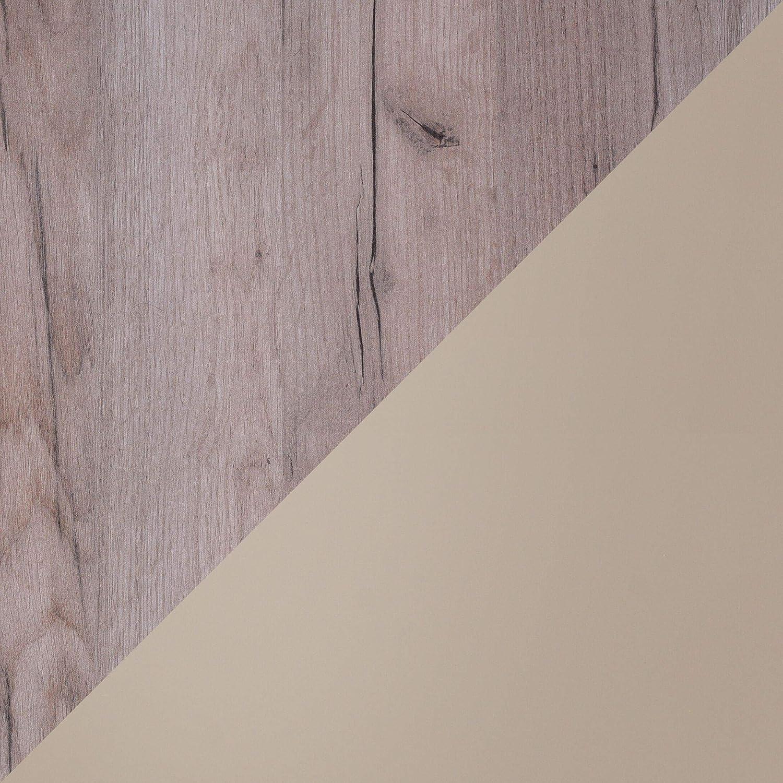 Tavolino da caff/è Martin Foglio di legno nero e lacca bianca