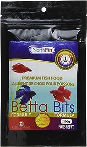 Northfin Betta Bits 1Mm Pellet 100 Gram Package