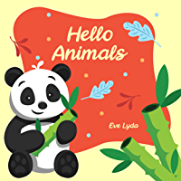 Hello Animals: Learn Alphabet and Animals in English From A to Z. For Kids Baby Toddlers And Preschool. Age 2 to 5 year. Panda Cover Design (English Edition)