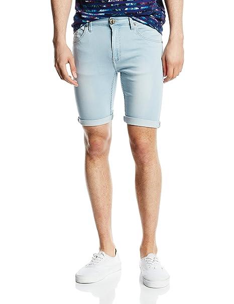lo último de64e 43dab Inside, 1Cbe32 - Pantalones cortos para hombre, color azul ...