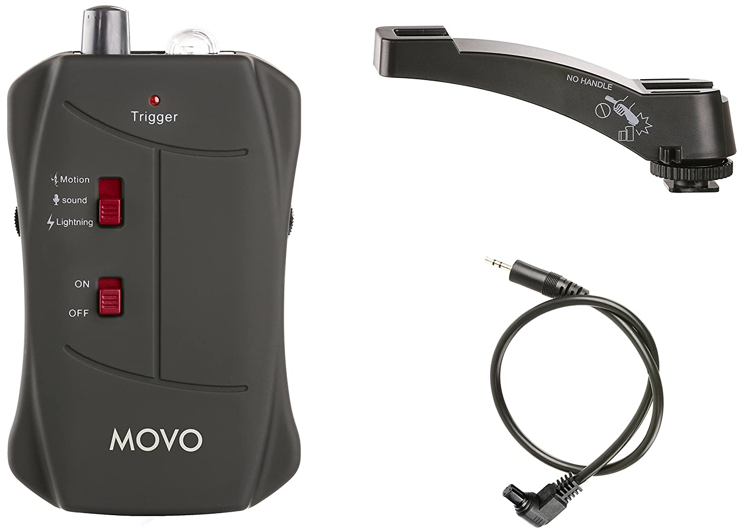 Amazon.com : Movo LC200-C3 Sound, Motion and Lightning Shutter Trigger for Canon EOS 1D, X, 1DS, 5D, 5DS, 5D Mark IV, 6D, 7D, 50D DSLR Camera : Camera & ...