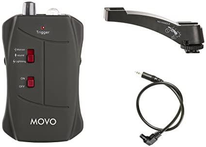 Movo LC200-C3 Sound, Motion and Lightning Shutter Trigger for Canon EOS 1D,