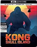 Kong: Skull Island (Steelbook) (4K UHD + Blu-ray 3D + Blu-ray) (3-Disc)
