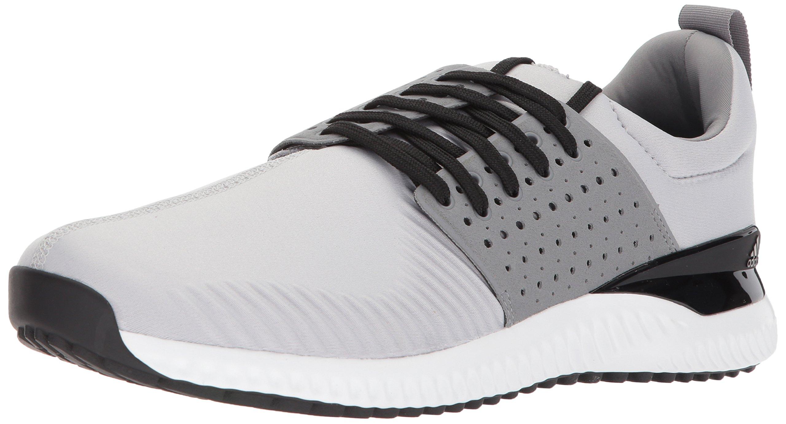 reputable site fba99 3c7f6 Galleon - Adidas Mens Adicross Bounce Golf Shoe, Light Solid GreyBlack,  7.5 M US