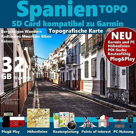 Mallorca Spanien Garmin Karte Outdoor Topo Fur Garmin Edge