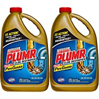 Liquid-Plumr Pro-Strength Full Clog Destroyer Plus PipeGuard (80 fl oz (Pack of 2))