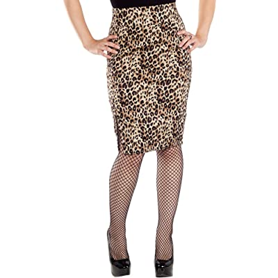 Sourpuss Leopard Shot Through The Heart Pencil Skirt from Clothing (Small) at Women's Clothing store