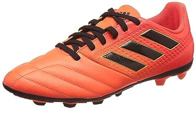 finest selection b2073 6fc75 adidas Ace 17.4 FxG J, Chaussures de Football garçon, Multicolore  OrangeCore Black