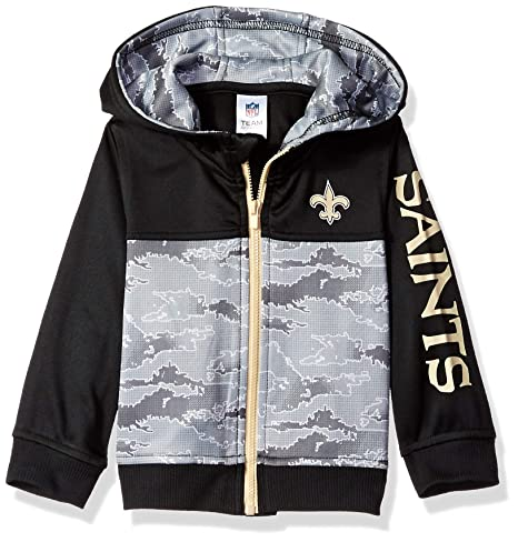 8094d9371 Amazon.com   NFL New Orlean Saints Unisex-Baby Hooded Jacket