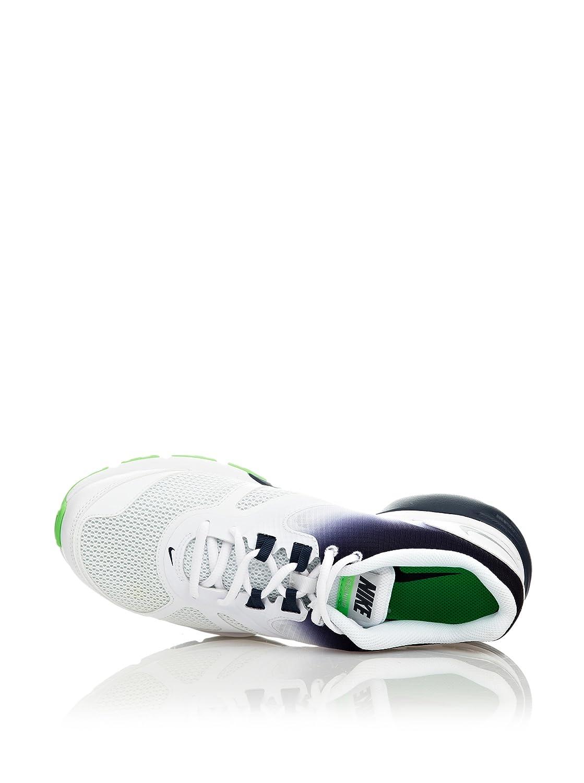 Nike Zapatillas Dual Fusion Tr Iv Blanco/Marino/Verde EU 44,5 (US 10,5)