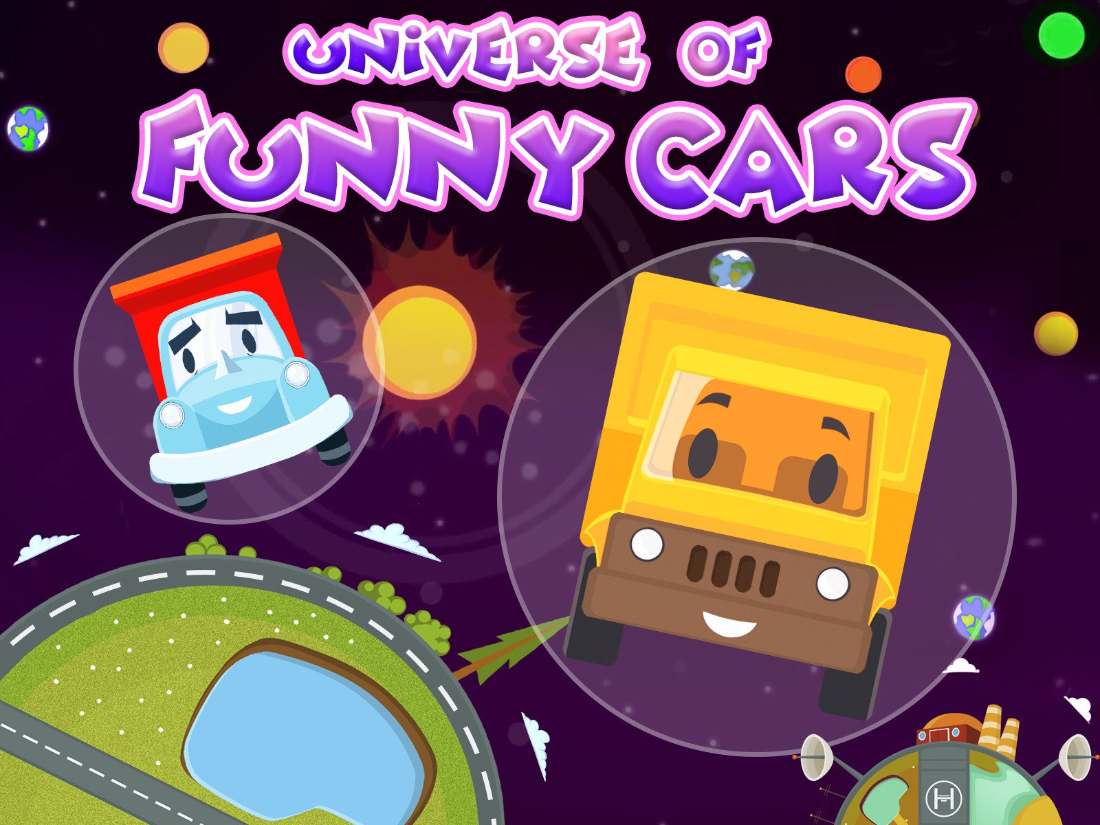 Universe of Funny Cars on Amazon Prime Video UK