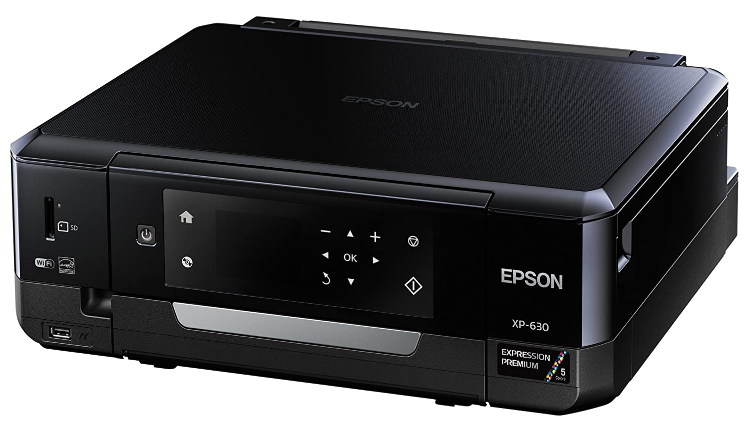 Epson XP-630 Wireless Color Photo Printer with Scanner and Copier (C11CE79201)