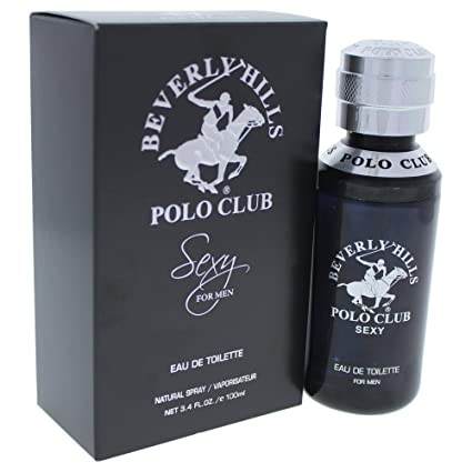 Beverly Hills Polo Club Sexy Eau de Toilette Spray for Men, 3.4 ...