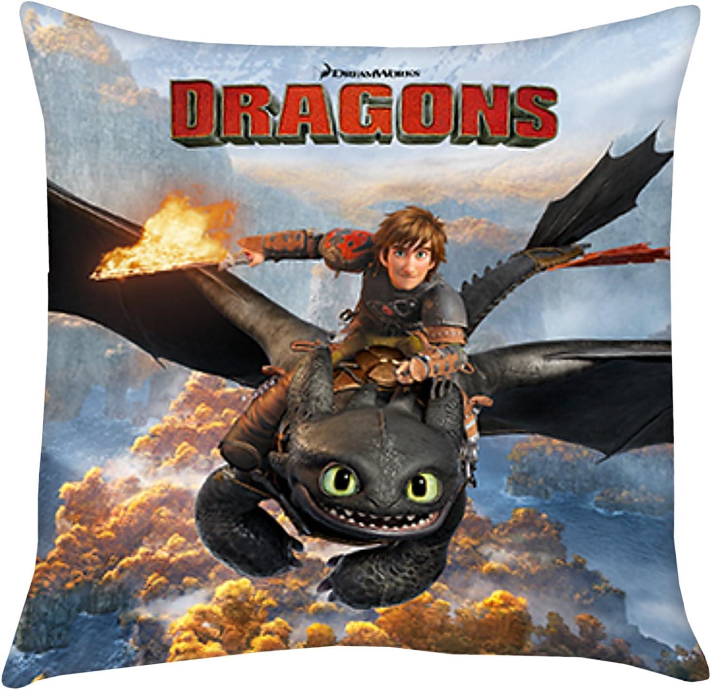 Drachenzähmen leicht gemacht How to Train Your Dragon Toothless Plüsch Kissen