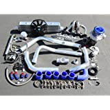 For Honda Prelude H22 High Performance 15pcs T04E Turbo Upgrade Installation Kit