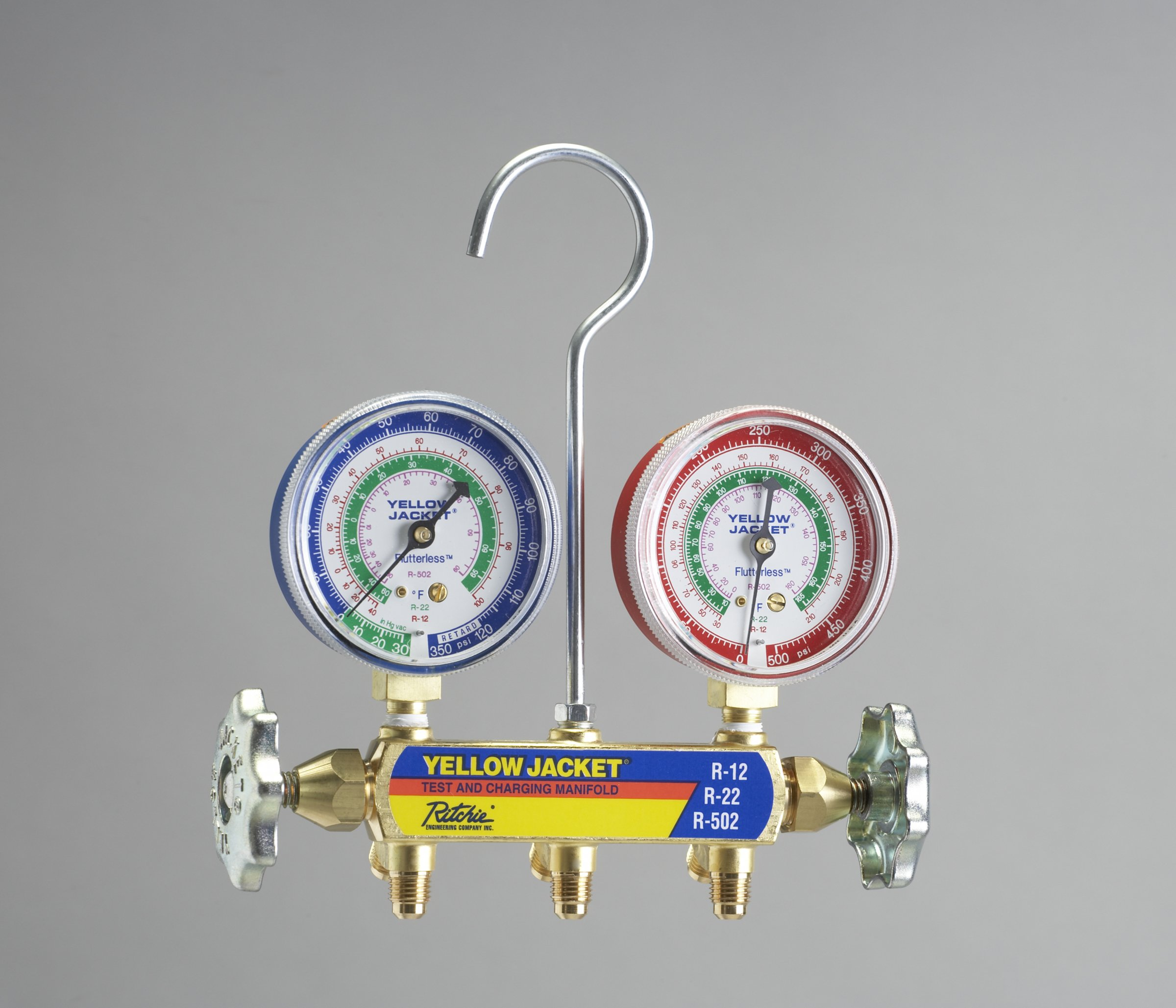 Ritchie Engineering Co., Inc. / YELLOW JACKET 41212 Red & blue gauges