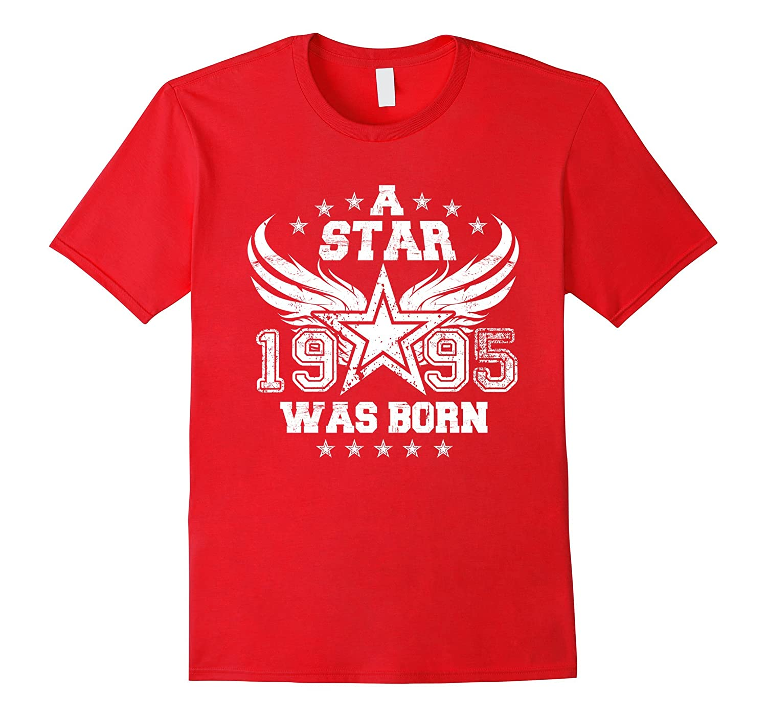 1995 Star Was Born Funny 22nd Birthday Gift T shirts-Vaci