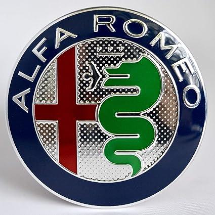Alfa Romeo Escudo trasero con logo de Alfa Romeo original 74 mm