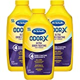 Dr. Scholl's Odor-Fighting Odor-X Foot Powder, 6.25oz (Pack of 3) // All-Day Protection Against Odor and Sweaty Feet…