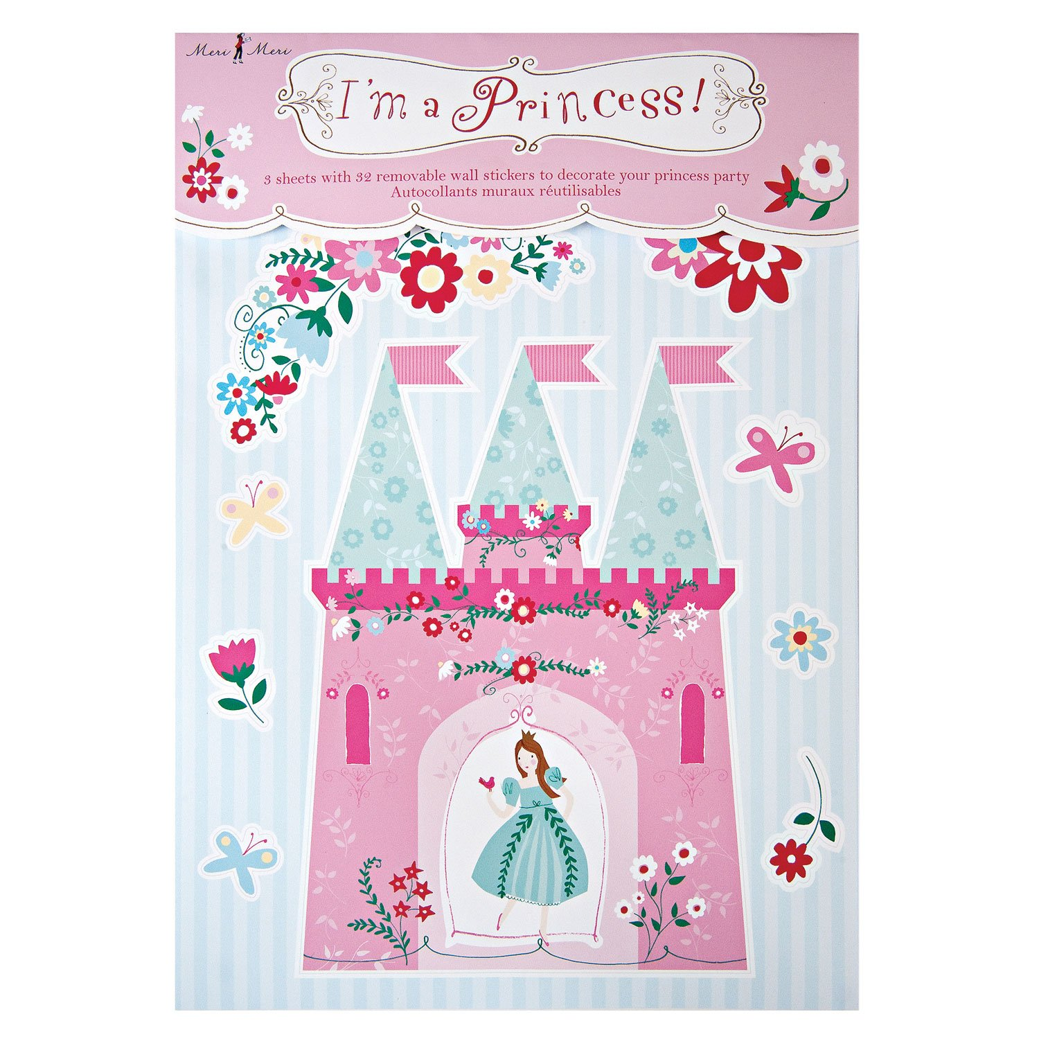 Buy meri meri im a princess wall stickers online at low prices in buy meri meri im a princess wall stickers online at low prices in india amazon amipublicfo Image collections