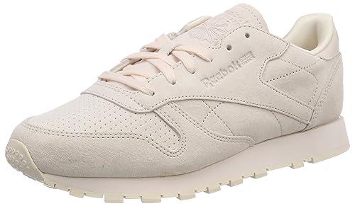 d98223f3df7 Reebok CL Leather Nbk W Calzado  Amazon.es  Zapatos y complementos