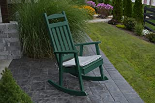 product image for Furniture Barn USA Outdoor Poly Classic Porch Rocker - Turf Green