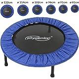 Physionics - Trampoline fitness - utilisable à l'intérieur comme à l'extérieur – Taille 1 (Ø: 81 cm) – TAILLE AU CHOIX