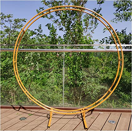 Telón de fondo redondo arcos anillo exterior del partido del ...