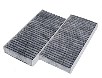 Amazon Com Hifrom Pack Of 2 Carbon Cabin Air Filter Replace Part